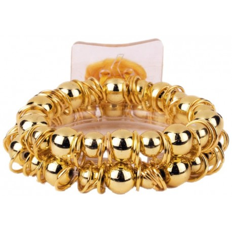 Gum Drop Flower Bracelet - Gold