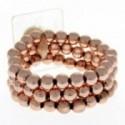 Avery Corsage Bracelet - Rose Gold