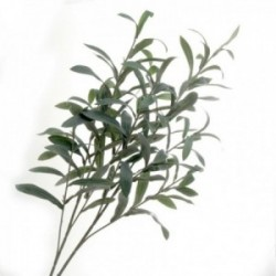 Olive Spray - Green (95cm long, 116 leaves)