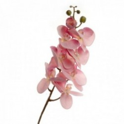 Real Touch Phalaenopsis Orchid - Mauve (8 heads, 99cm long)