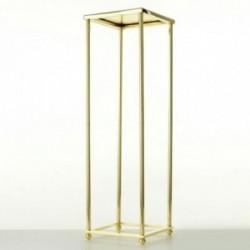 60cm Aurora Plinth - Gold (60cm tall, flat pack)