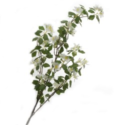 Apple Blossom - White (110cm long)
