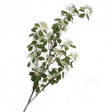 Apple Blossom - White (110cm long)
