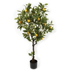 Real Touch Potted Lemon Tree - Natural (120cm tall)