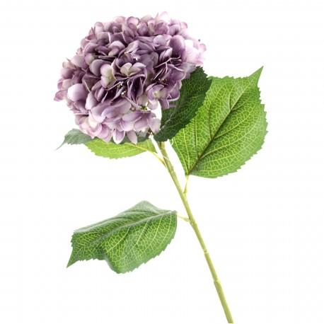 Single Hydrangea - Light Violet (19cm diameter, 82cm long)