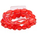 Potpourri Corsage Bracelet - Red