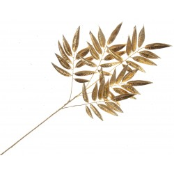 Metallic Ficus Spray - Gold (55cm Long)