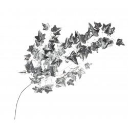 Metallic Ivy Spray - Silver