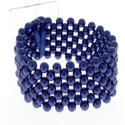 Classic Corsage Bracelet - Navy