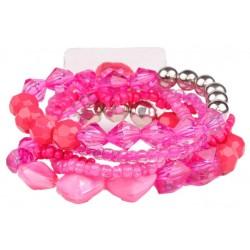 Potpourri Corsage Bracelet - Hot Pink