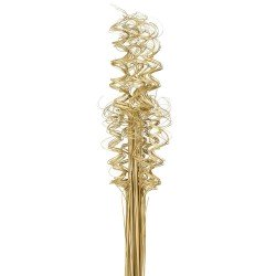 Curly Ting Ting - Natural (60cm, 100 pcs per pk)