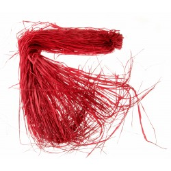 Raffia - Red (250g, 110-120cm long)