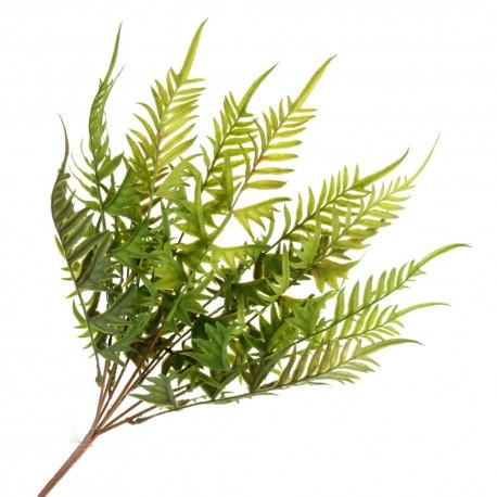 Fern Bush - Green (50cm long)
