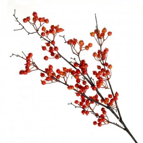 Orange Berry Spray - Orange/Brown (90cm long)