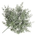 Artificial Spiral Eucalyptus Bush - Green/Grey - (12 stems, 45cm long)