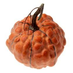 Artificial Pumpkin - Orange (14cm diameter)