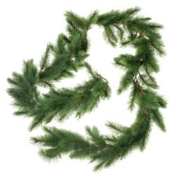 Artificial Evergreen Mountain Garland - Green (140 tips, 275cm long)