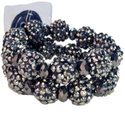 Vogue Corsage Bracelet - Black