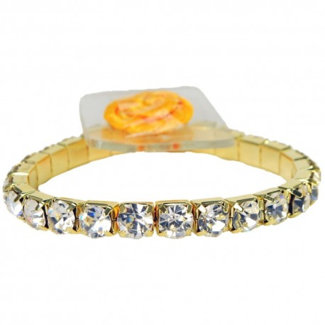 Blingzz Flower Bracelet - Gold