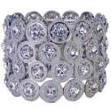 Carousel Corsage Bracelet - Silver