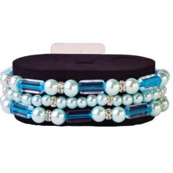 Geo Flash Corsage Bracelet -Turquoise