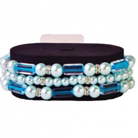 Geo Flash Bracelet -Turquoise