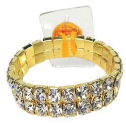 Shazaam Corsage Bracelet - Gold