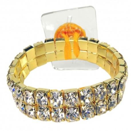 Shazaam Flower Bracelet - Gold