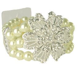 Vintage Beauty Bracelet - Cream