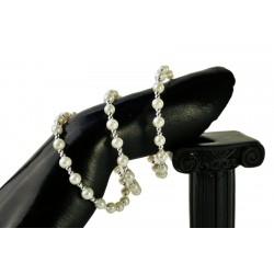 Eye Candy Pearl Corsage Bracelet - White