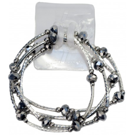 Angel Fire Corsage Bracelet - Silver