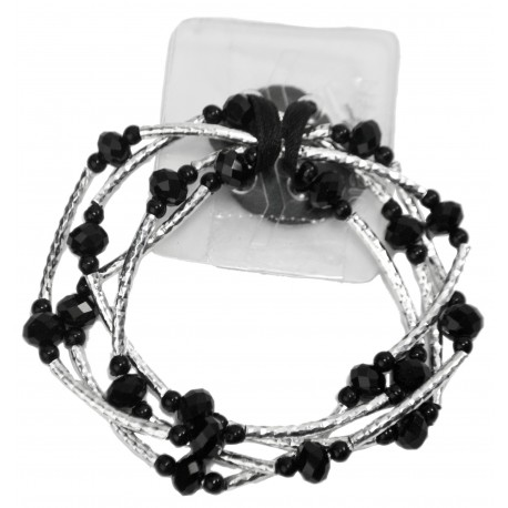Angel Fire Corsage Bracelet - Black