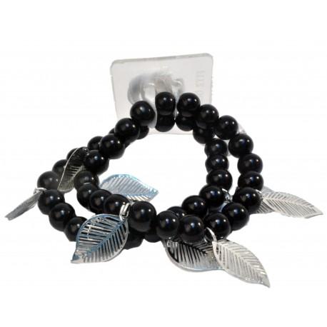 Breezy Corsage Bracelet - Black