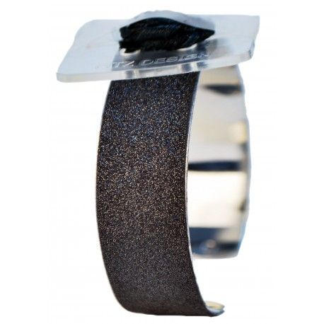 Glimmer Corsage Cuff - Black