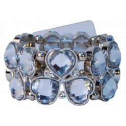 Irish Hearts Corsage Bracelet - Silver