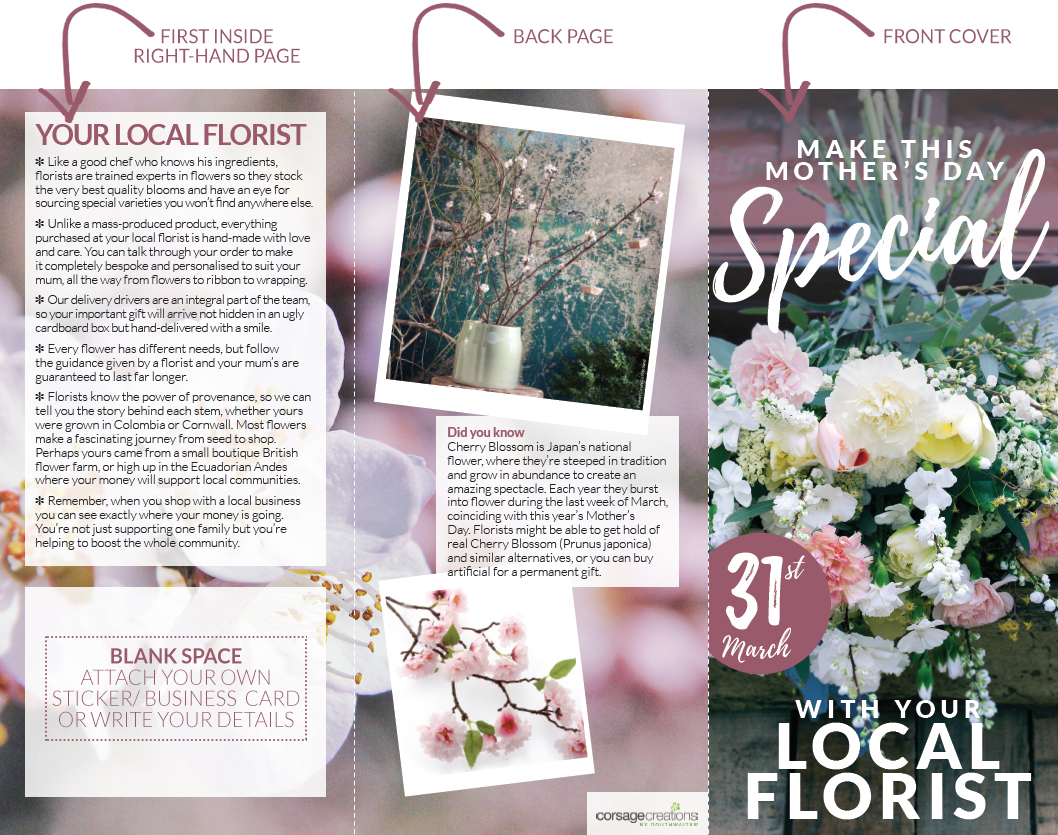Corsage-Creations-Mothers-Day-local-florist-flyer-flowers-front