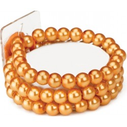 Avery Corsage Bracelet - Orange