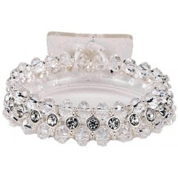 Tiny Dancer Corsage Bracelet - Clear