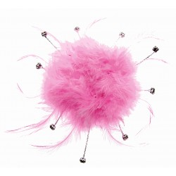 Cloud 9 Feather Accents - Pink (7cm Diameter)