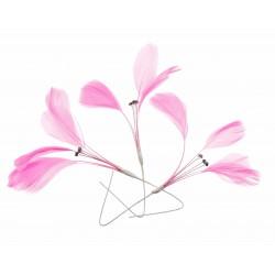 Tweetie Feather Accents - Pink