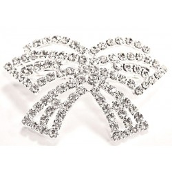 Twinkling Silver Hair Clip