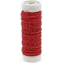 Bullion Wire - Red (0.3mm x 25g)