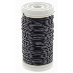 Metallic Wire - Black (0.5mm x 100g)