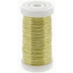 Metallic Wire - Gold (0.5mm x 100g)