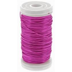 Metallic Wire - Hot Pink (0.5mm x 100g)