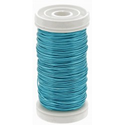 Metallic Wire - Turquoise (0.5mm x 100g)
