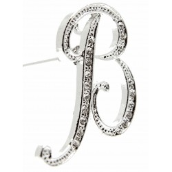 Monogram Letters B - Silver