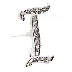 Monogram Letters I - Silver