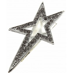 Super Star Boutonniere Holder - Silver