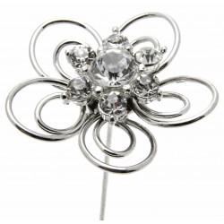 Kara's Kisses Fun Time - Silver (3cm Diameter, 3 pieces per pack)